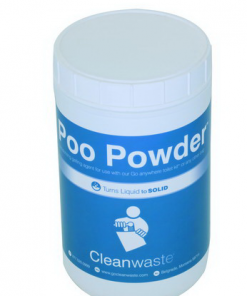 Poo Powder Waste Treatment