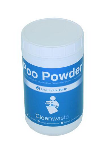 Poo Powder Waste Treatment