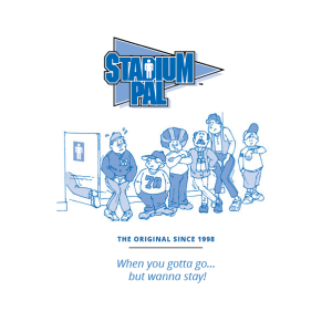 Stadium Pal - Portable urinal for men available at BioRelief website