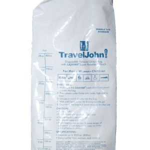 TravelJohn Disposable Portable Urinal
