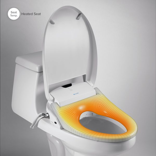 toilet with heated seat and bidet Bidet Toilet Seat | Brondell Swash 1400 | BioRelief toilet with heated seat and bidet