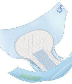 Wings Hook and Loop 3D Adult Briefs