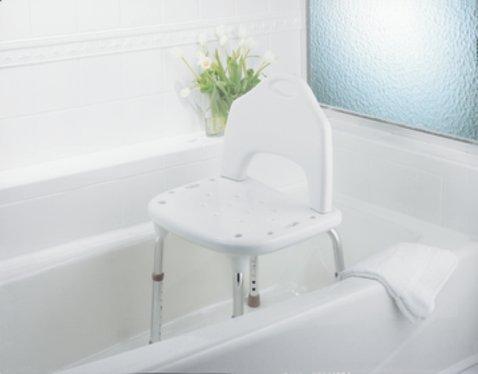 Adjustable Height Shower Chair | Bathroom Safety | BioRelief