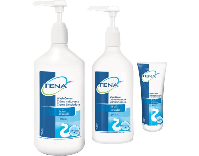 Tena Wash Cream Perineal Skincare Biorelief