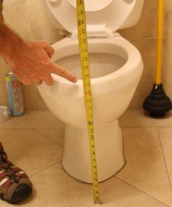 Power Toilet Aid measurement