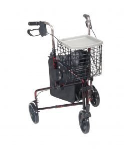 3-Wheel Aluminum Rollator
