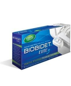 Elite 3 Bidet Attachment by BioBidet - Dual Nozzle Toilet Seat Bidet system - Practical and easy to use