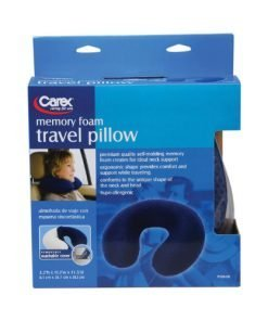 Carex Travel Pillow with Memory Foam