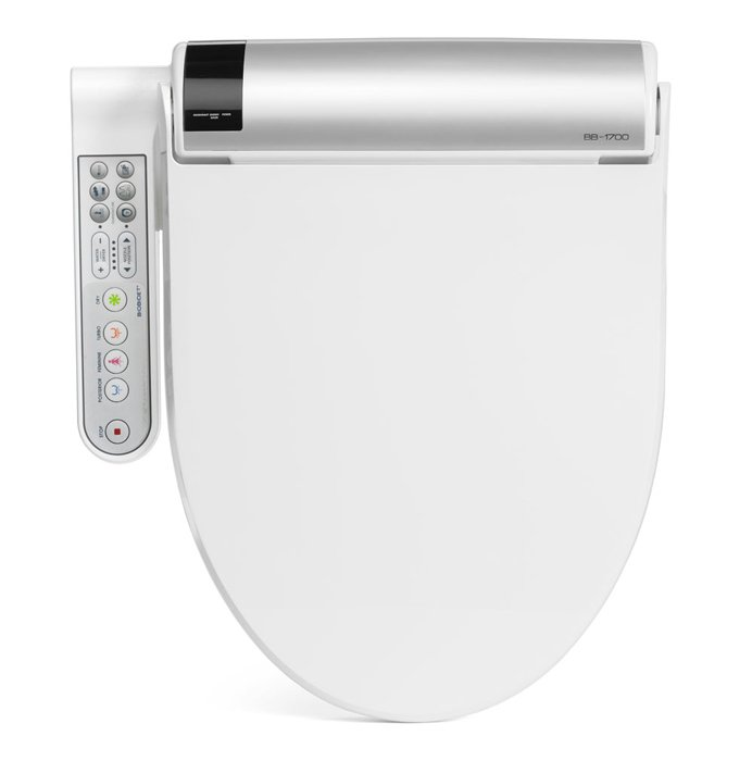 Bliss Bidet Toilet Seat-Side-Control