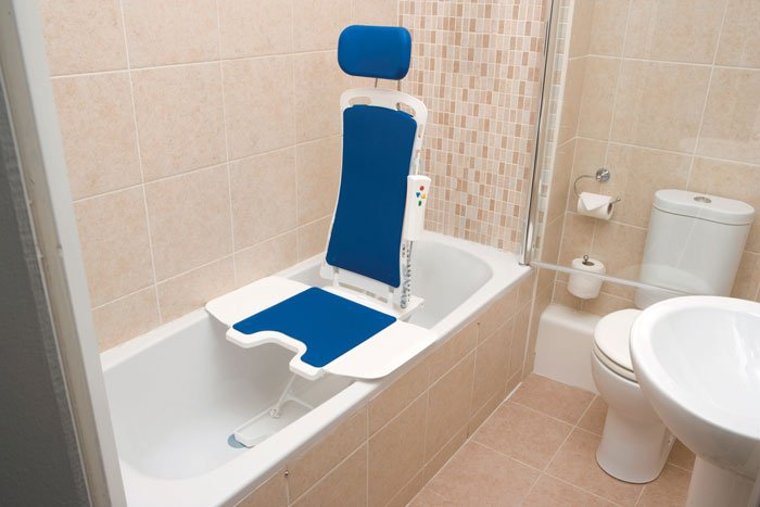Drive Medical Bellavita Auto Bath Lifter Bathroom Safety