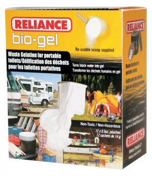 Bio-Gel Waste Gelation Solution for Human Waste