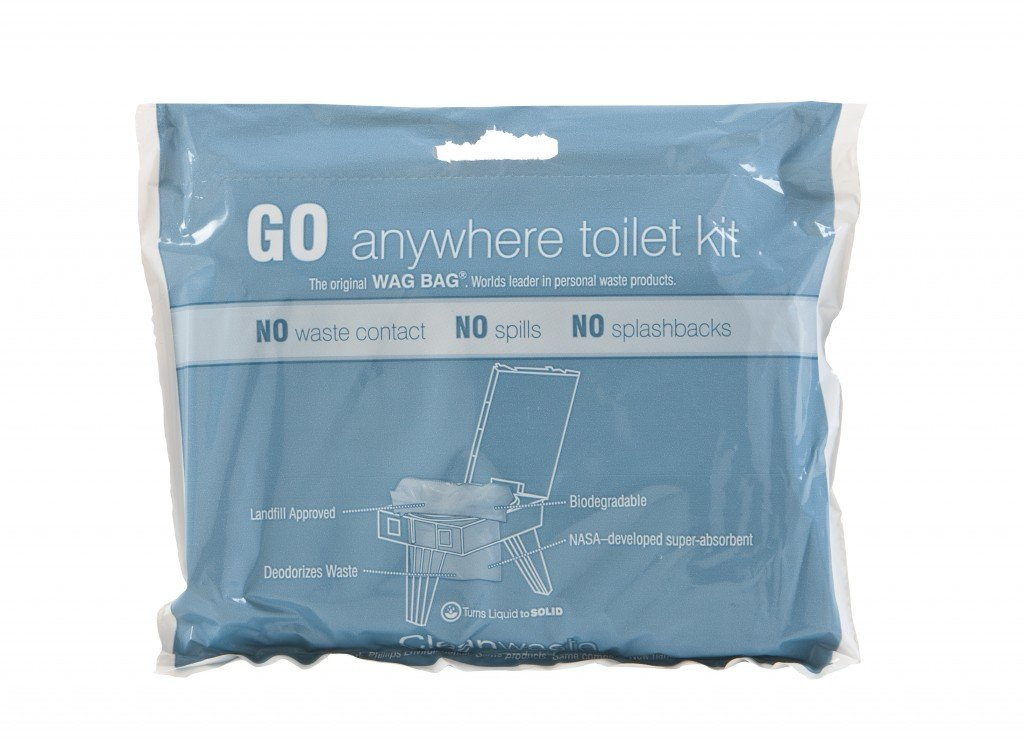 Go Anywhere Toilet Kit Portable Toilet Camping Biorelief