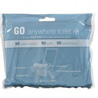 GO anywhere toilet kit