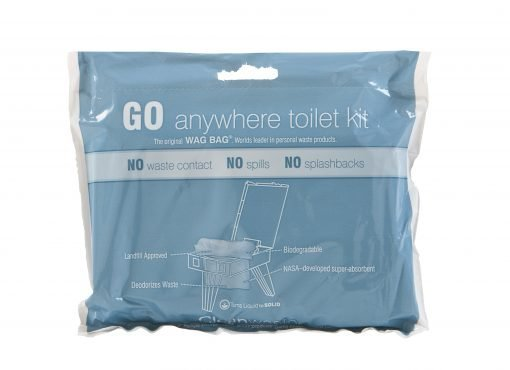 GO anywhere toilet kit