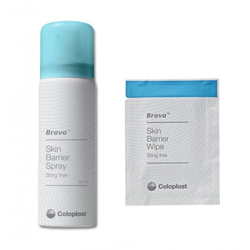 Brava Skin Barrier Sting Free Male External Catheter Biorelief