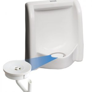 Waterless Touch Free Flush System