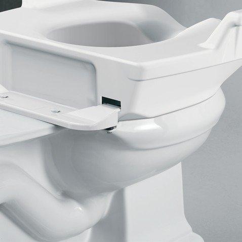 Moen Glacier Elevated Toilet Seat Riser Bathroom Safety