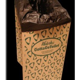 GottaGo Waterless Cardboard Camping Toilet