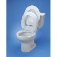 Hinged Elevated Toilet Seat