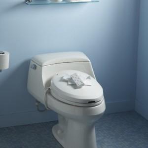 Kohler C3 200 Electronic Bidet Toilet Seat Toileting Aid