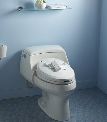 Kohler C3 200 Electronic Bidet Toilet Seat Toileting Aid Biorelief