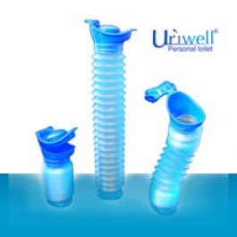 Uriwell personal toilet-  portable urinal