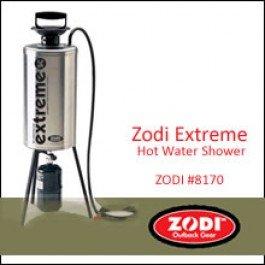 Zodi extreme portable hot shower