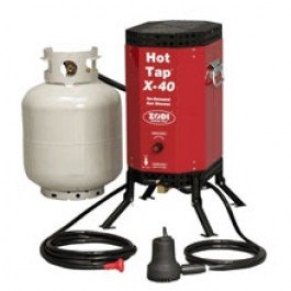 Zodi X-40 High Output On-Demand water heater & hot shower