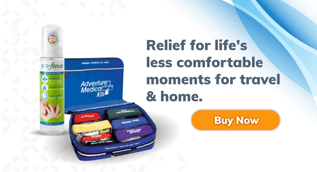 Relief for life's less comfortable moments for travel and home - Tailgating and camping personal hygiene products - BioRelief