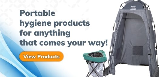 Portable hygiene products for anything that comes your way - Portable Toilets and urinals