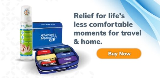 Relief for lifes less comfortable moments for travel and home - Tailgating and camping personal hygiene products