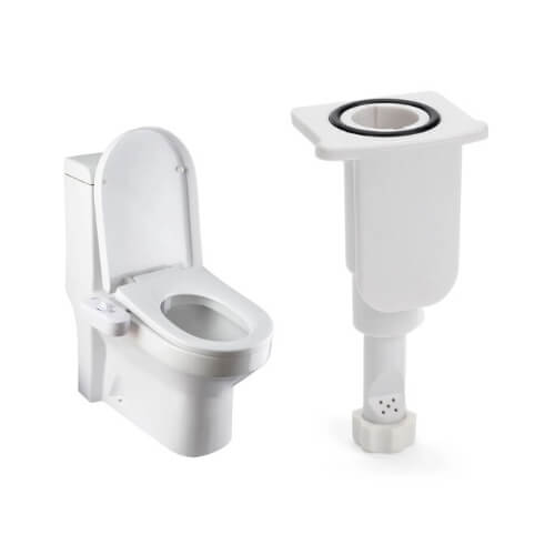 BB-70 Bidet Attachment by BioBidet - Toilet Seat Bidet system - Practical Personal Hygiene Tool