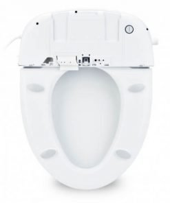 Swash DS725 - Advanced Toilet Seat Bidet - Brondell Bidet with Remote Control - Under View