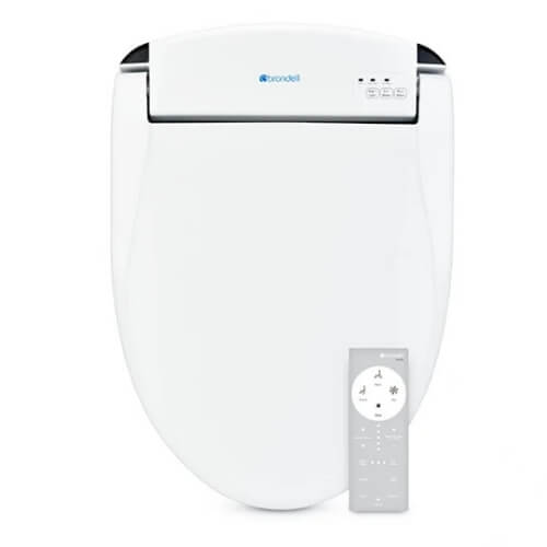 Swash DS725 - Advanced Toilet Seat Bidet - Brondell Bidet with Remote Control - White
