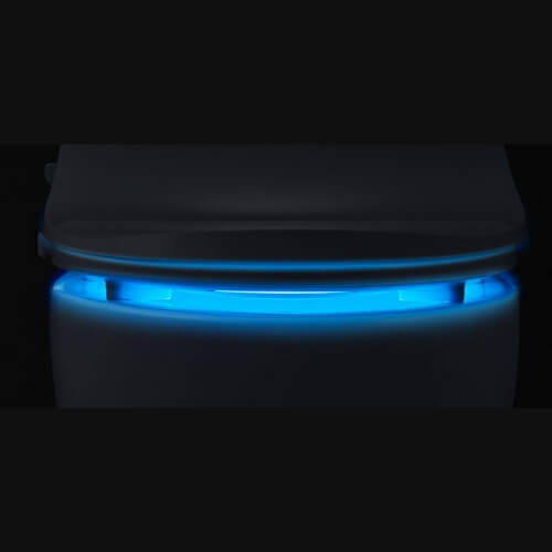 Toilet Seat Bidet - Personal Hygiene Tools - Slim TWO By BioBidet with night light