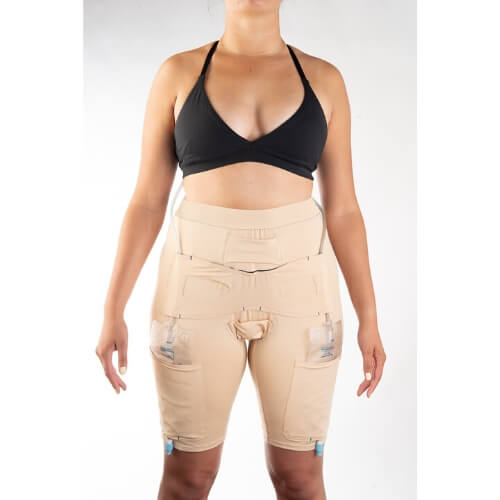 Underwear to Manage Leg Bags and Tubing by CathWear - Urinary Incontinence - Woman Sample Front