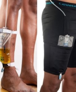 Unisex Underwear to Manage Leg Bags and Tubing- Urinary Incontinence
