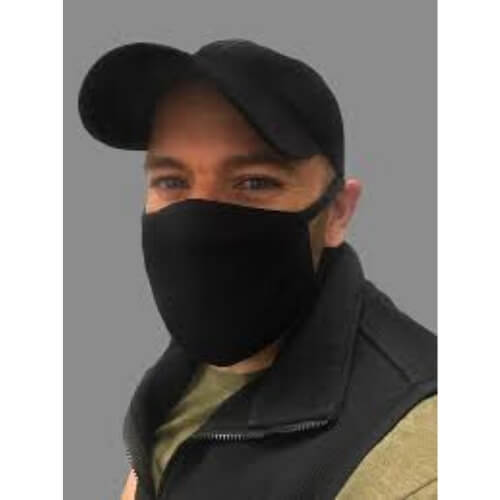 Washable Preventive Mask - Aramark 91461 - 3 Layer Fabric Face Mask - Sample