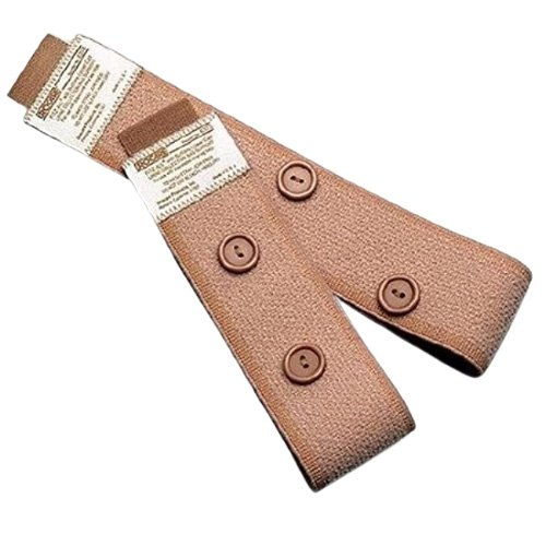 Fabric Leg Straps with Buttons - Fitz-All Urocare