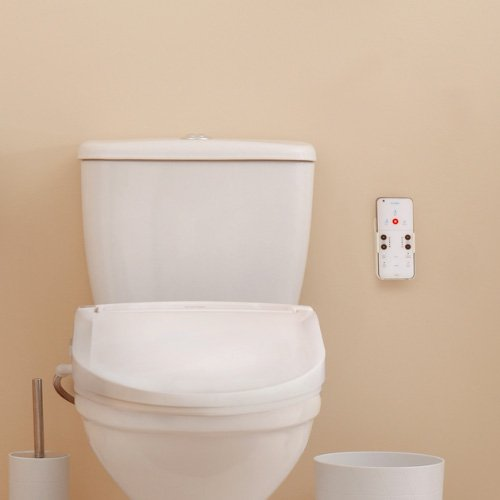 brondell swash bl97 toilet seat bidet - less toilet paper