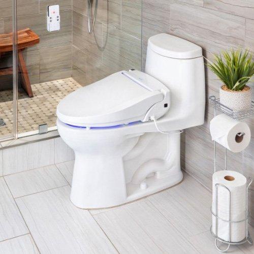 swash bl97 toilet seat bidet - example installation