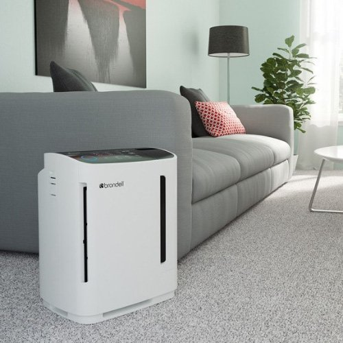 Revive Air Purifier and Humidifier - white o2plus